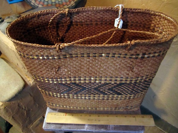 1890s Oregon Quileute Basket