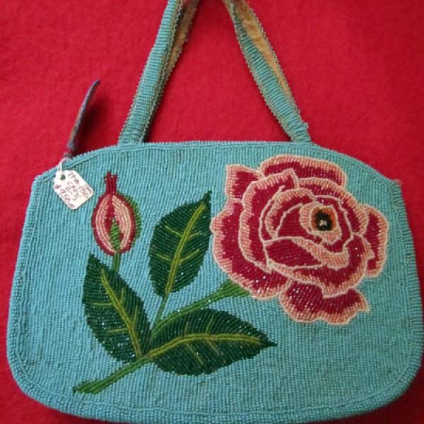1940s - 1950s Crow Bag
