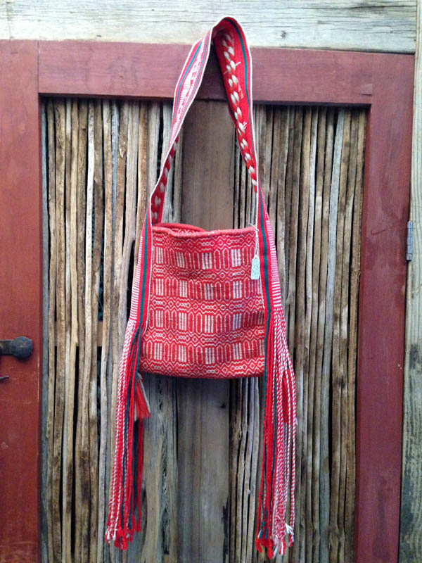1960s Navajo Twill Saddle Blanket Bag