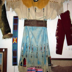 Buckskin Arapaho Powwow Dress