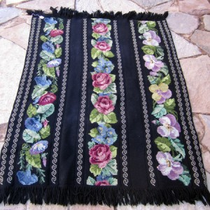 Vintage Crocheted Shawl