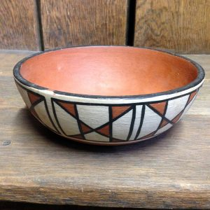 Geometric Designs Santo Domingo Pueblo Bowl