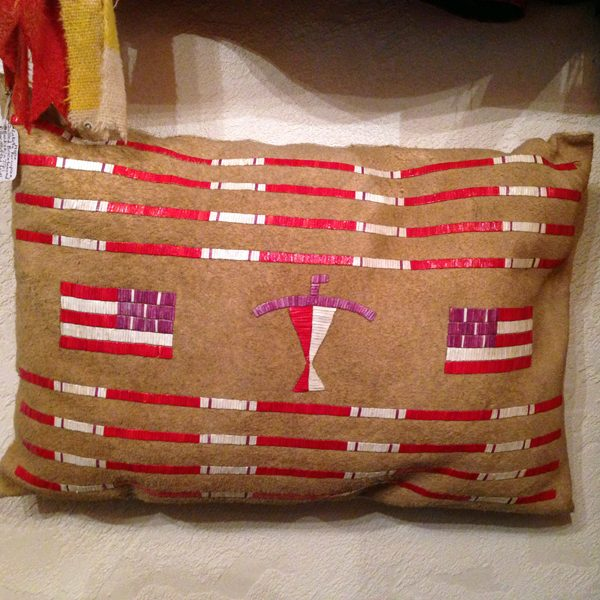 Porcupine Quilled Tipi Pillow