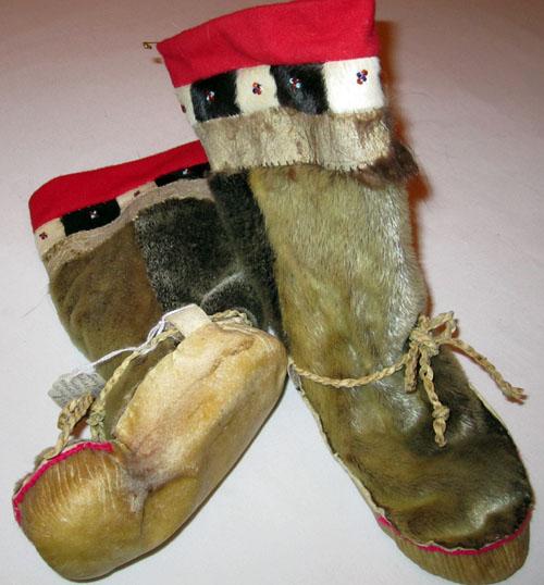 Inupiaq Sealskin Mukluks