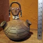 Old Maricopa Effigy Pot