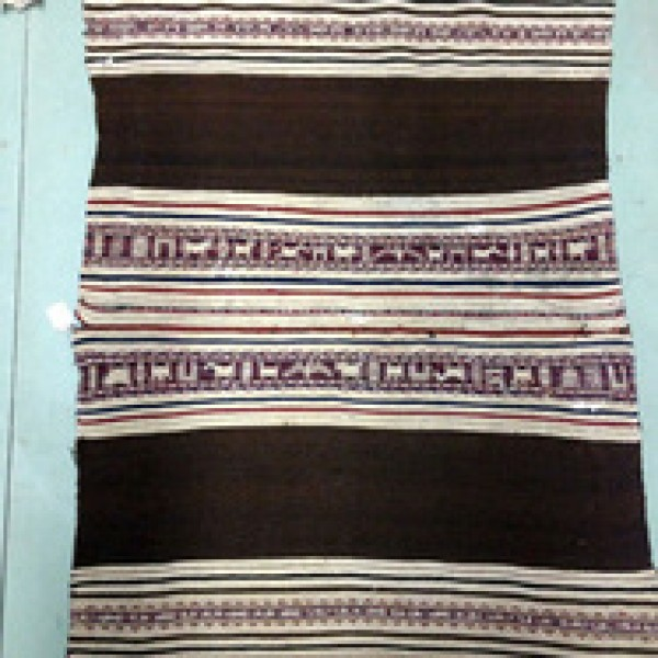 1850 - 1880s Alpaca Weaving, Llamas, Horses, Condors Designs