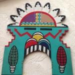 1950s Hopi Sun Tableta