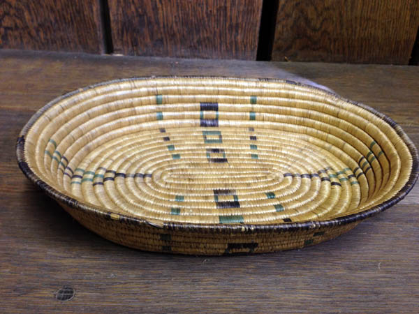1920s Aleut Beachgrass Basket