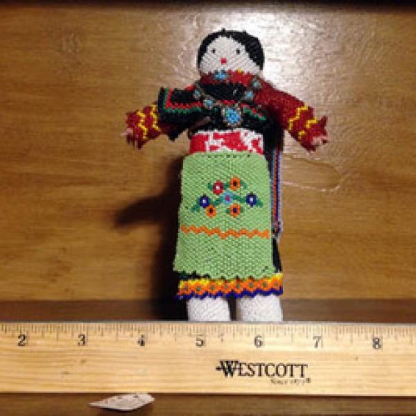 Beaded Zuni Woman Doll