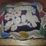 1880s - 1890s Iroquois Bird & Flower Whimsey