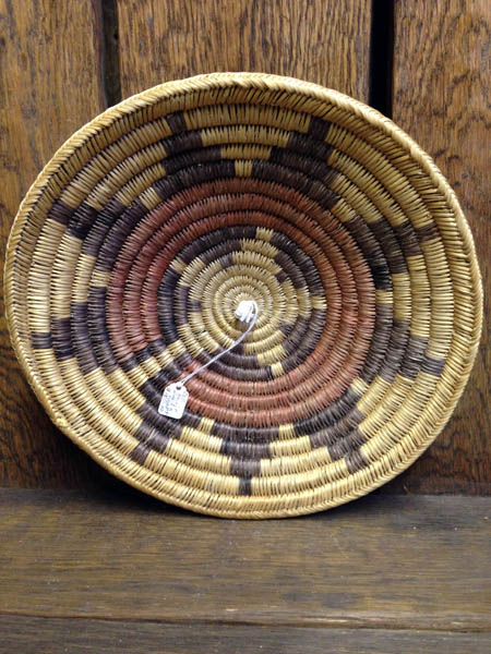 Old Navajo 9 Point Polychrome Basket