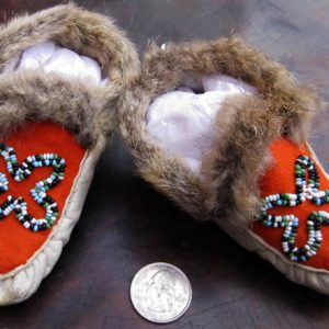 Woodlands Baby Moccasins