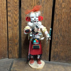 White Bear Kachina Doll