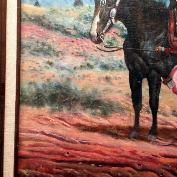 Bronco Bucking Rider