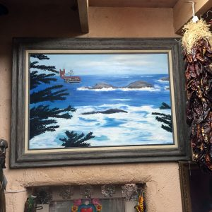 Seascape Northwest Coast Spirit Whale Original Oil