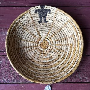1960s Papago Pictorial Basket