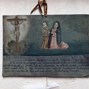 Tin Painted Retablo