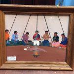Navajo Original Watercolor Peyote Ceremony