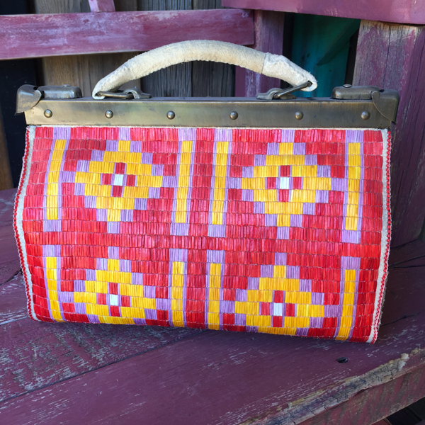 Old Lakota Quilled Doctor's Bag