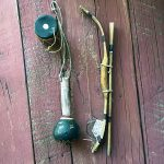 1950s Hopi Boys Set Of Bow and Arrows, Drum and Rattle 2