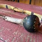 1950s Hopi Boys Set Of Bow and Arrows, Drum and Rattle 4