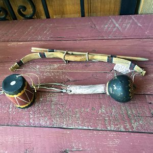 1950s - 1960s Hopi Boys Bow & Arrows, Drum & Rattle Set
