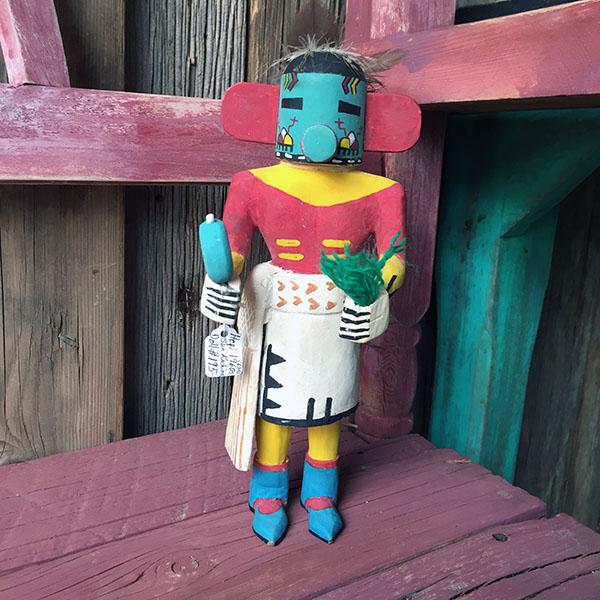 1960s Hopi Sun Kachina Doll 1