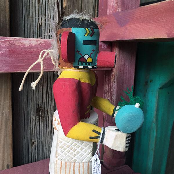 1960s Hopi Sun Kachina Doll 11