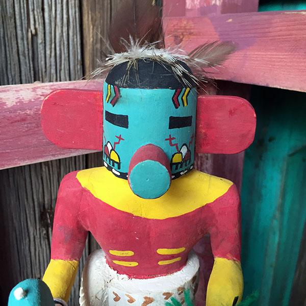 1960s Hopi Sun Kachina Doll 3