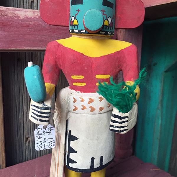 1960s Hopi Sun Kachina Doll 4