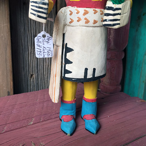 1960s Hopi Sun Kachina Doll 5