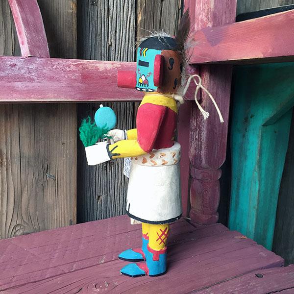1960s Hopi Sun Kachina Doll 6