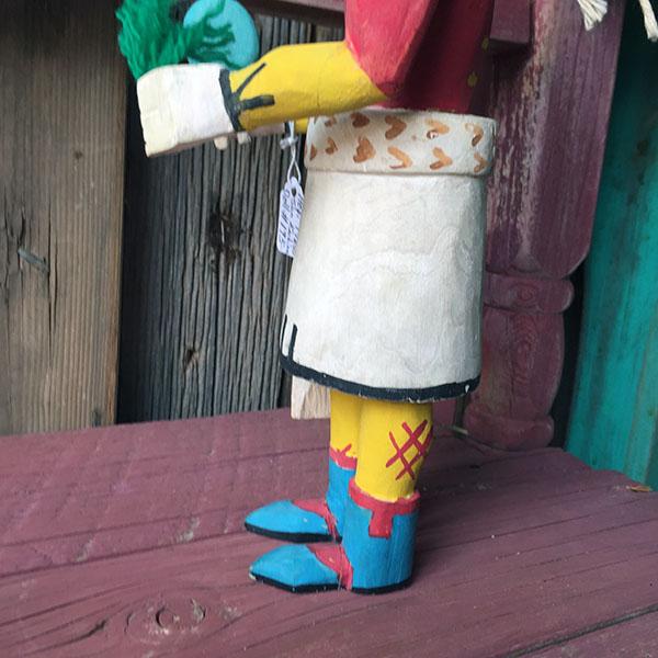 1960s Hopi Sun Kachina Doll 8