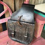 Old Hand Tooled Saddle Bag 1