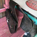 Old Hand Tooled Saddle Bag 3