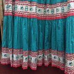 1940s Fiesta Skirt On Denim Top 10