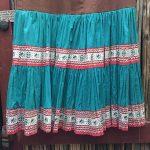 1940s Fiesta Skirt On Denim Top 4