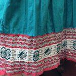 1940s Fiesta Skirt On Denim Top 5