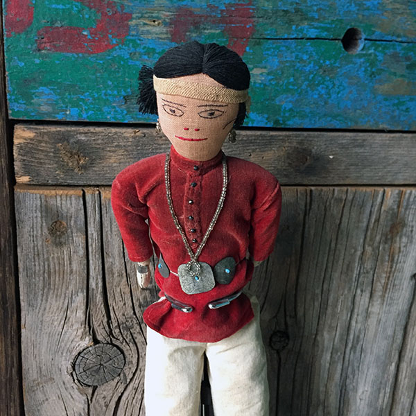 1940s Navajo Male Doll 3