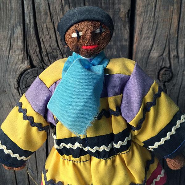 1960s Rare Seminole Male Doll 4