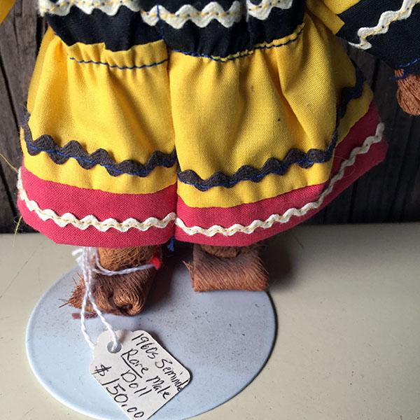 1960s Rare Seminole Male Doll 5