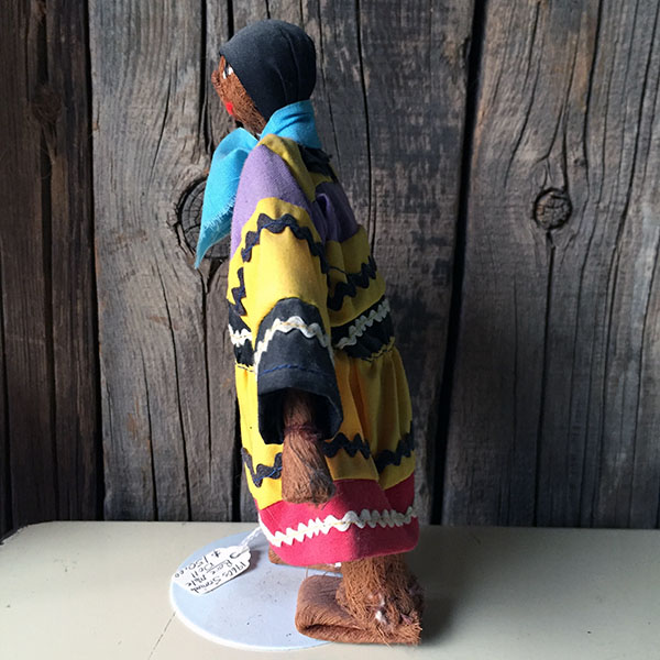 1960s Rare Seminole Male Doll 6