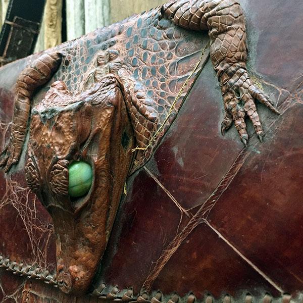 Vintage Alligator Purse 6