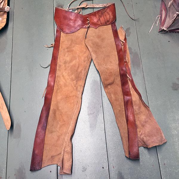 Vintage Cowhide Chaps