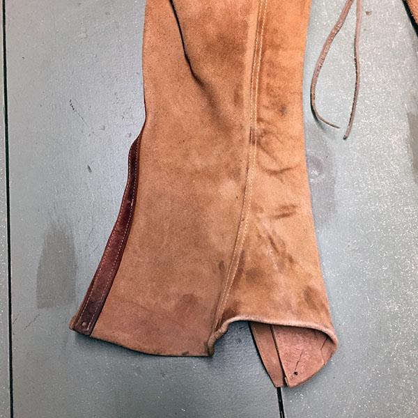 Vintage Cowhide Chaps 12