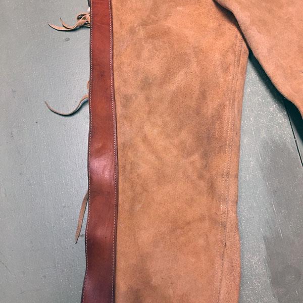 Vintage Cowhide Chaps 3