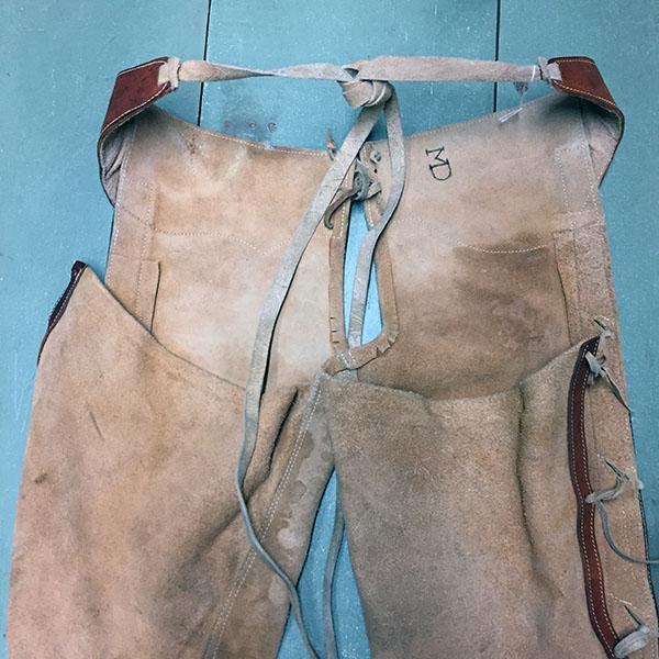Vintage Cowhide Chaps 9