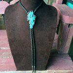 1960s - 1970s Zuni Inlay Hoop Dancer With Sleeping Beauty Turquoise