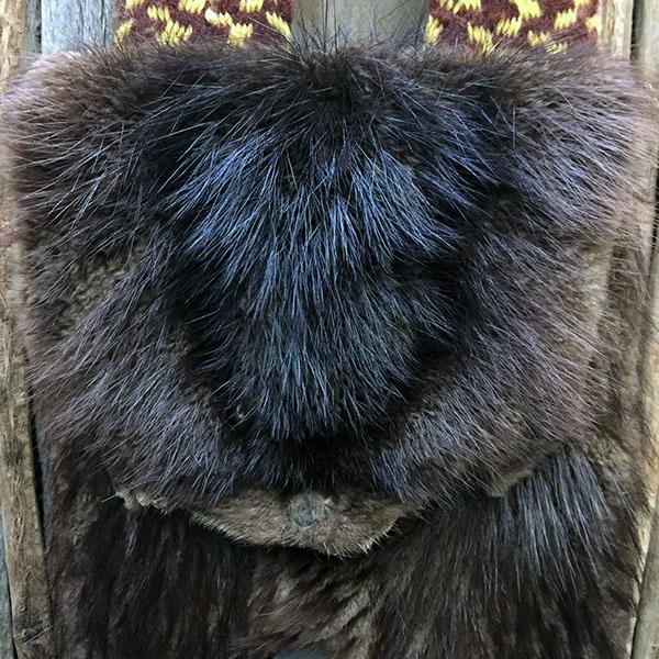 1960s Metis Beaver Bag