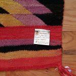 1880s - 1890s Navajo Handspun Wool Blanket